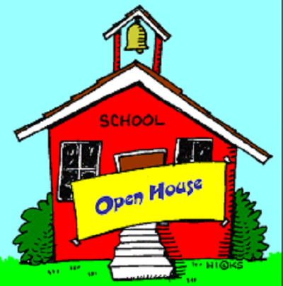 illustration of school house